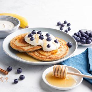 Food photography panquecas